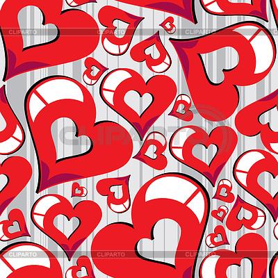 발렌타인 데이 - 원활한 패턴 | 벡터 클립 아트 |ID 3285769