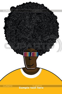 Drawing of man in T-shirt | Stock Vector Graphics |ID 3309172