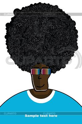 Mężczyzna w koszulce | Klipart wektorowy |ID 3309174