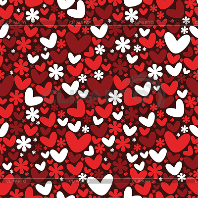 Valentine`s day seamless pattern | Stock Vector Graphics |ID 3324119
