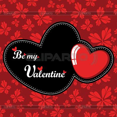Karta Valentine `s Day | Klipart wektorowy |ID 3324629