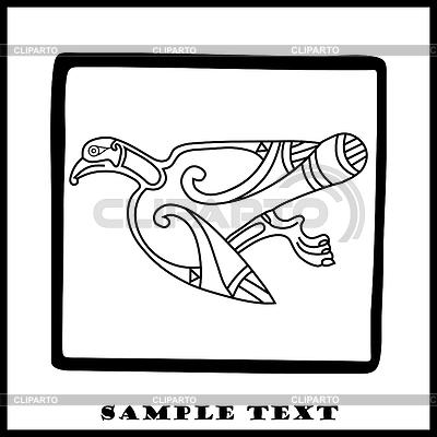 Celtic eagle  | Stock Vector Graphics |ID 3286864