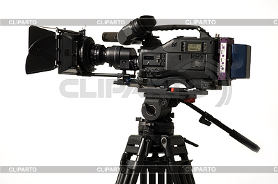 Professional digital video camera   High resolution stock photo  ID 3298618