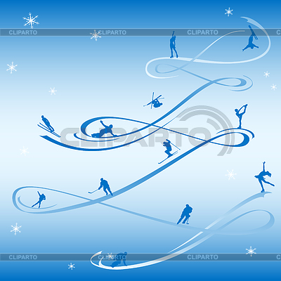 New Year Blue Sport Card | Stock Vector Graphics |ID 3321286