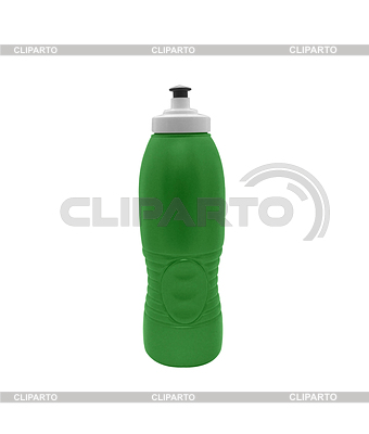 Green plastic bottle | High resolution stock photo |ID 3314635