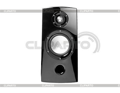 Background of black speaker with sphere | High resolution stock photo |ID 3314857