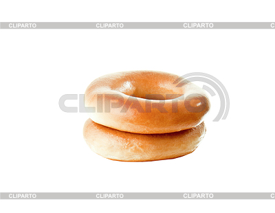 Two big bagels   High resolution stock photo  ID 3315011