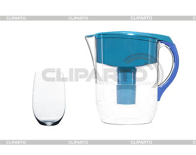 Water filter with glass   High resolution stock photo  ID 3316271