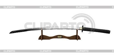 Samurai sword on stand | High resolution stock photo |ID 3316879