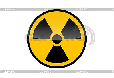 Rundes Radiation-Zeichen   Illustration mit hoher Auflösung  ID 3317642