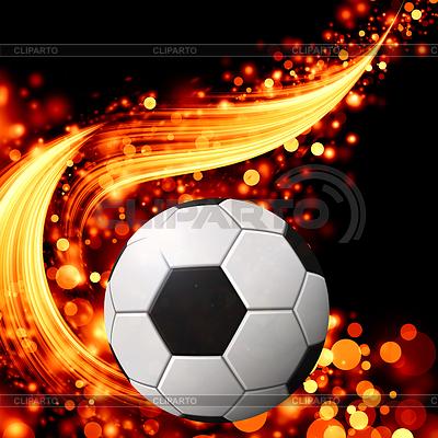 Abstrakter welliger Fußball-Muster | Illustration mit hoher Auflösung |ID 3367461