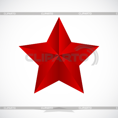 Red star | Stock Vector Graphics |ID 3338496