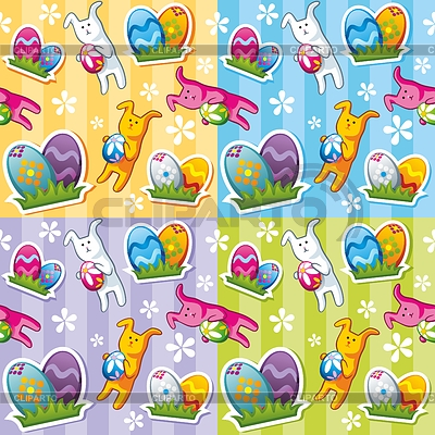 Seamless easter pattern | Stock Vector Graphics |ID 3338087