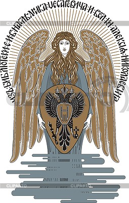 Ex libris z Cesarevitch Aleksego | Klipart wektorowy |ID 3352357