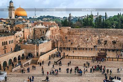 Klagemauer, Tempelberg, Jerusalem | Foto mit hoher Auflösung |ID 3349082