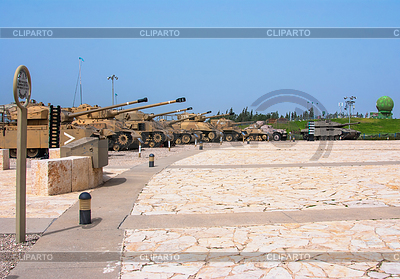 纪念馆和在拉特伦,以色列装甲部队博物馆 | 高分辨率照片 |ID 3349087