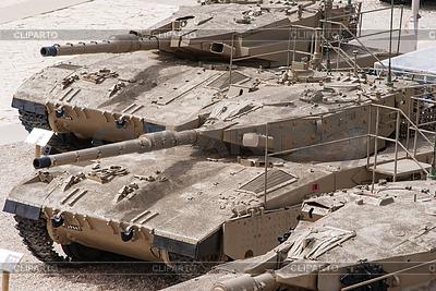 Israelischer Panzer Merkava in Panzerkops-Museum in Latrun | Foto mit hoher Auflösung |ID 3349095