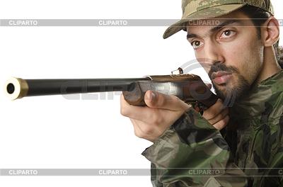 Soldat | Foto mit hoher Auflösung |ID 3351749