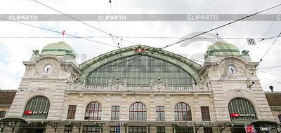 Main station of Basel, Switzerland | High resolution stock photo |ID 3369494