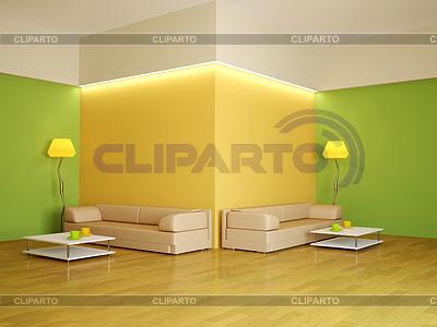 Interior of large room   High resolution stock illustration  ID 3371637
