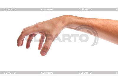 Mężczyzna ręka sięga po coś | Foto stockowe wysokiej rozdzielczości |ID 3371959