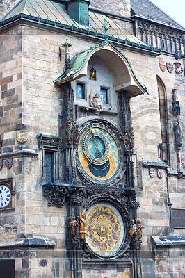 Zegar astronomiczny. Praga. Czechy | Foto stockowe wysokiej rozdzielczości |ID 3375557