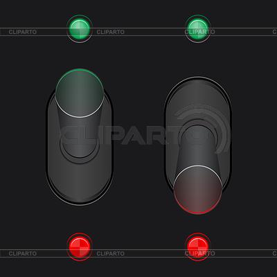 开启和关闭开关的设置 | 向量插图 |ID 3382032