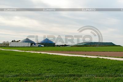 发酵罐沼气厂 | 高分辨率照片 |ID 3379106