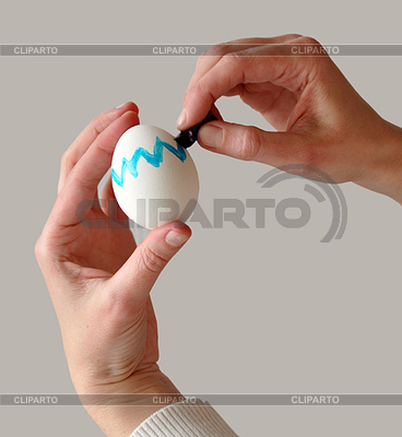 Coloring easter egg | High resolution stock photo |ID 3381123